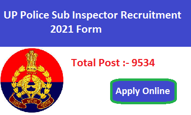 Up Police Sub Inspector Si Bharti Form 2021 Apply Online
